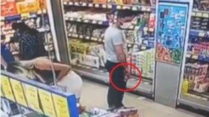 Markette alışveriş yapan kadının etek altı fotoğrafını çeken şahıs serbets bırakıldı
