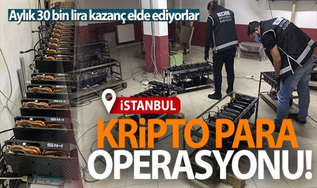 İstanbul'da kripto Para'ya Büyük Darbe! Operasyonda 84 Cihaz Ele Geçirildi