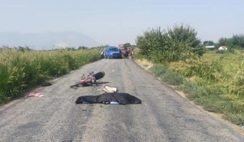 Yaşlı adam motosiklet kazasında hayatını kaybetti